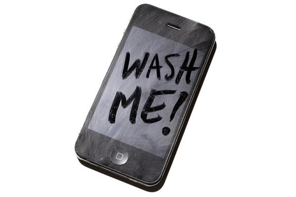 تلفن همراه شما کثیف تر از آن چیزی است که فکر می کنید