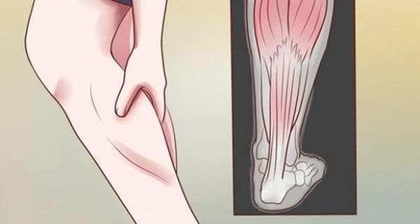 درد عضلات پا