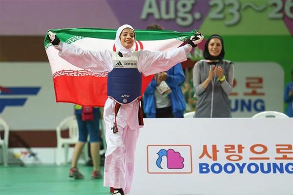 دختران ایران قهرمان تکواندو جهان شدند(+عکس)
