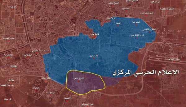 منطقه «شیخ سعید» حلب آزاد شد