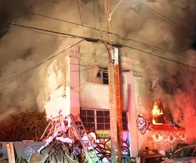 بیش از 20 کشته در آتش سوزی یک کنسرت در آمریکا