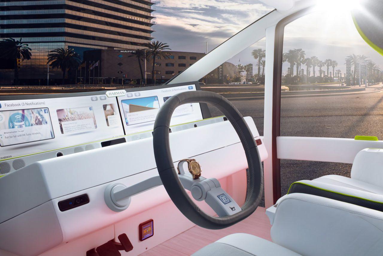 """خودرویی با امکانات یک هتل ,  ماشین با تمام امکانات , گروه صنعتی رایناسپید , خودران """"اوسیس , خودرو همه فن حریف"""