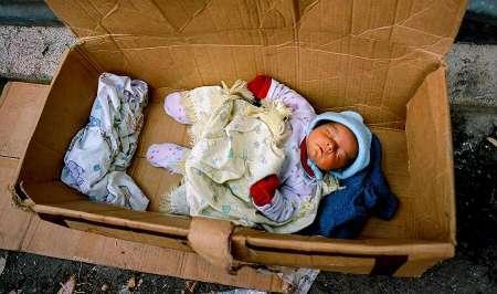 پیدا شدن نوزاد یک روزه در پدیده شاندیز
