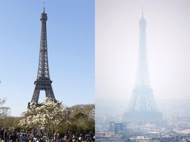 وقتی برج ایفل و برج میلاد شبیه هم شدند+تصاویر