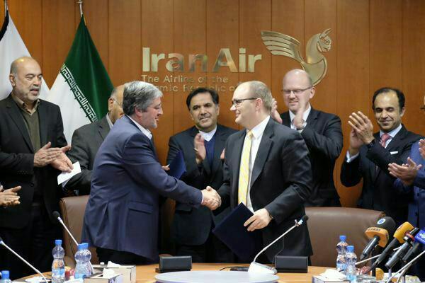 قرارداد ایران و بوئینگ آمریکا برای خرید 80 هواپیما رسماً امضا شد