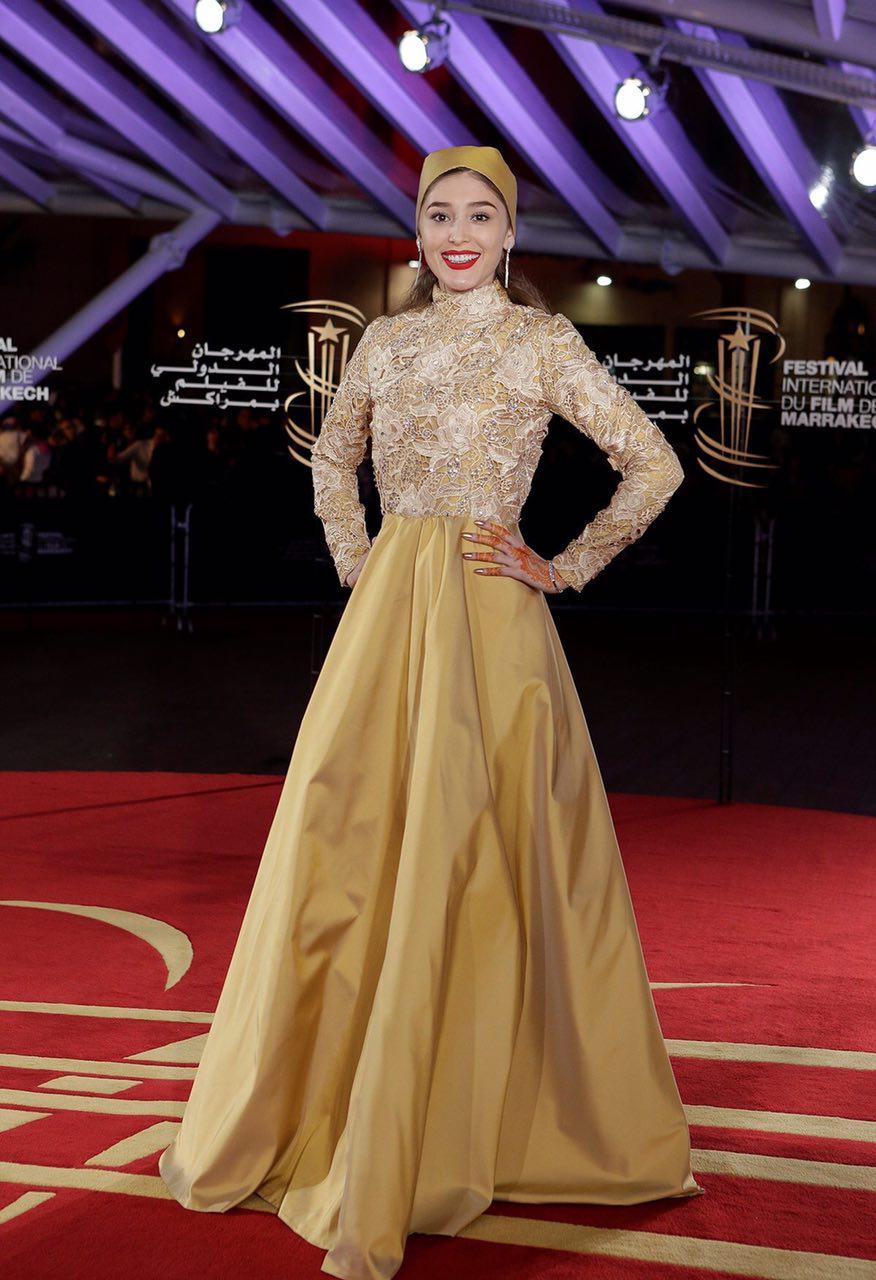 هنرپیشه زن افغان، ستاره جشنواره مراکش (عکس)