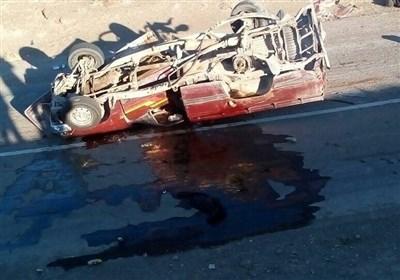 تصادف 2 خودرو در سیستان و بلوچستان/ 9 کشته و 21 زخمی