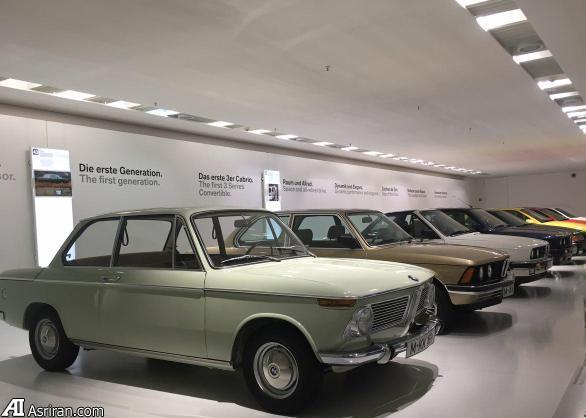 نوستالژی ایرانی ها در موزه BMW (+عکس)