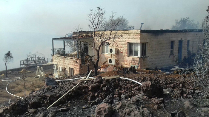 آتش سوزی گسترده در اسرائیل / درخواست کمک از ترکیه، یونان، ایتالیا و قبرس