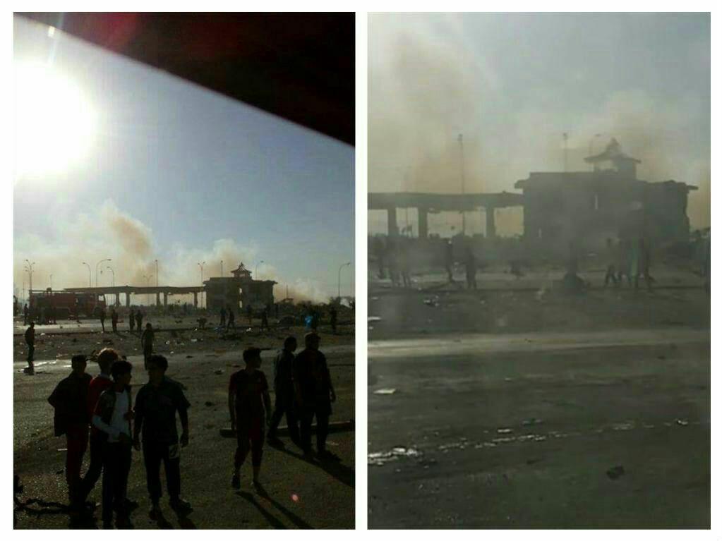 انفجار در استان بابل عراق/ تعدادی از شهدا ایرانی هستند