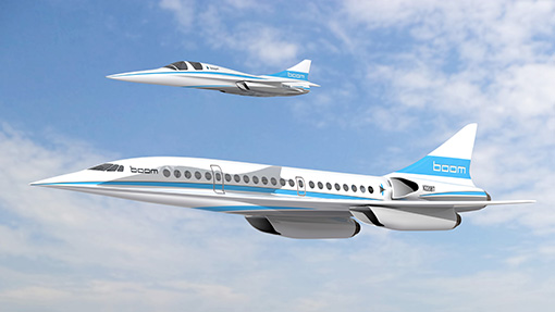 تولد دوباره هواپیماهای سوپرسونیکها تا پایان 2017