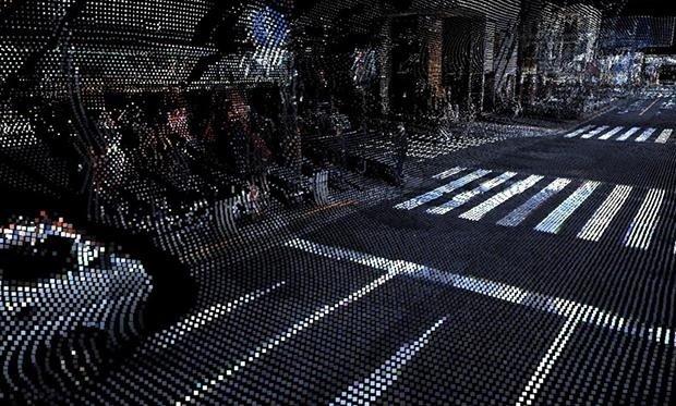 خیابانهای ژاپن 3 بعدی میشوند
