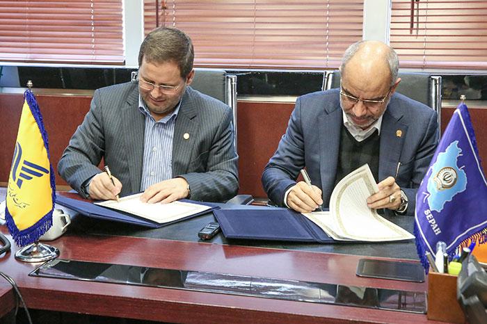 امضای تفاهمنامه همکاری میان بانک سپه و شرکت ملی پست