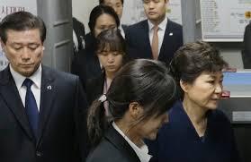 گریه و زاری رئیس جمهور برکنار شده کره جنوبی در نخستین شب بازداشت