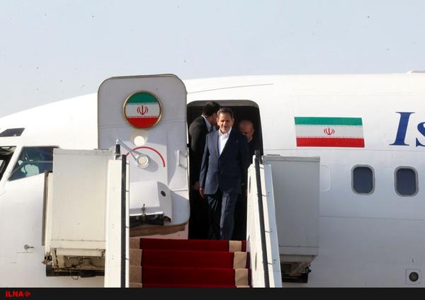 جهانگیری و 2 وزیر وارد خوزستان شدند