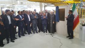 افتتاح خط توليد سمند در سمنان با حضور رییس جمهور
