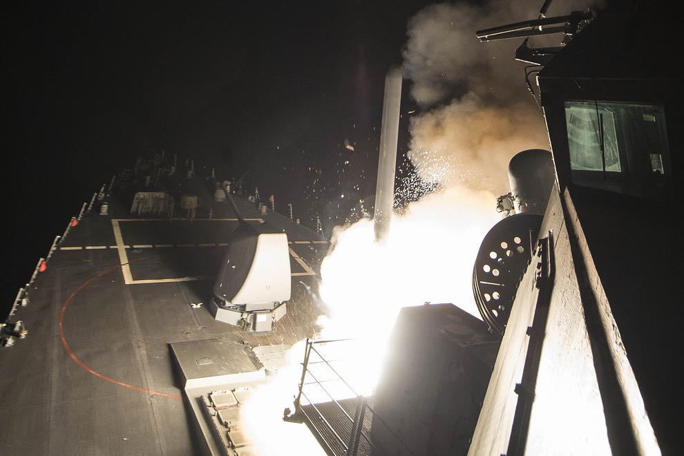 حمله موشکی آمریکا به سوریه؛ دلایل و پیامدها