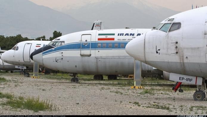 هواپیماهای فرسوده است که در آن دولت مشهور محمود احمدی نژاد از یکی از شرکت های هواپیمایی افغانستان  به صورت صد در صد نقدی خریداری شده بود