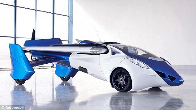 پیشفروش اولین خودروی پرنده در فرانسه (+عکس)