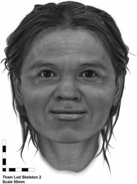 بازسازی چهره یک زن پس از 13600 سال! (+عکس)