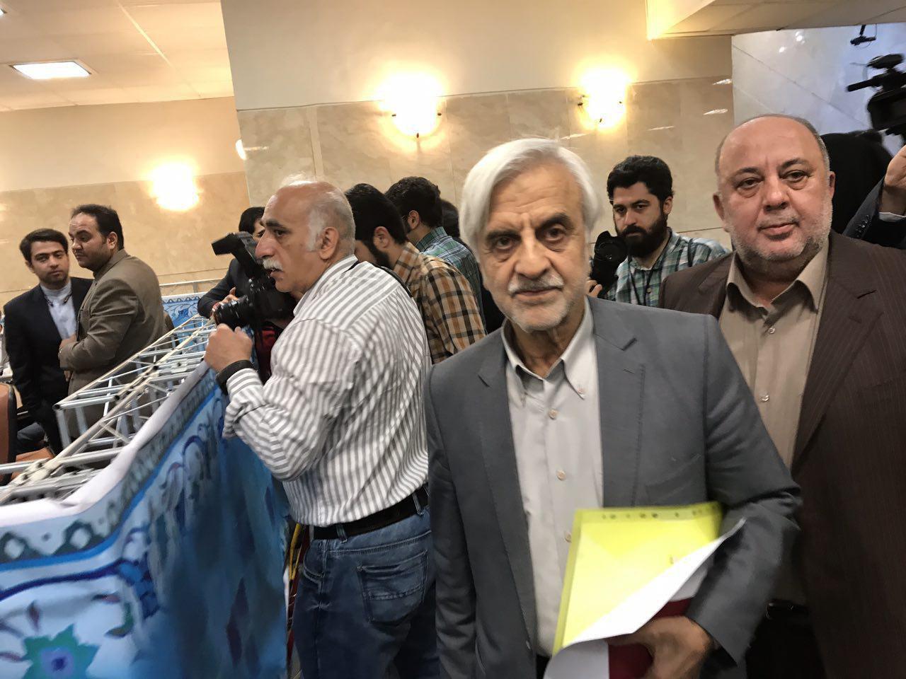 هاشمیطبا نامزد انتخابات ریاست جمهوری شد