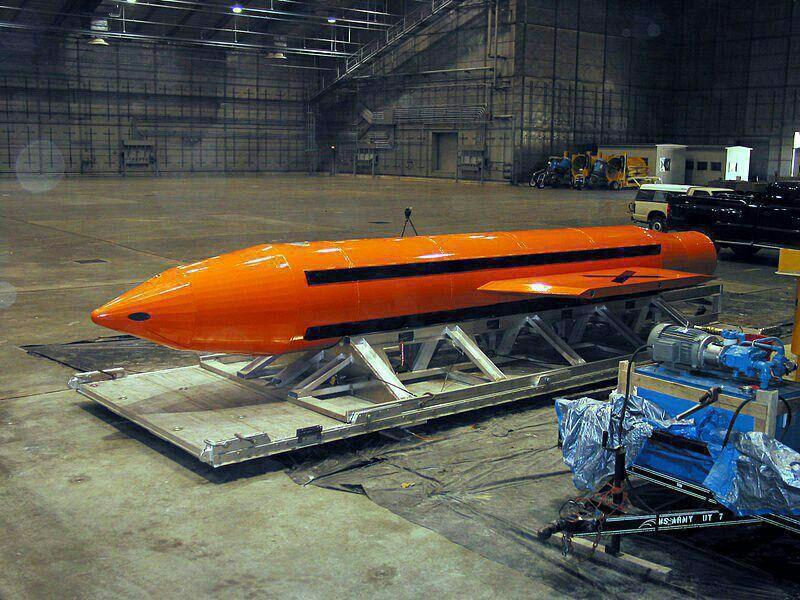 شلیک بزرگترین بمب غیراتمی آمریکا در افغانستان/ تونل های داعش هدف بمب 11 تنی