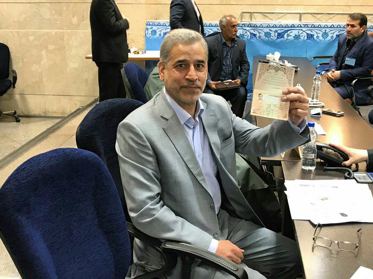وزیرجهاد کشاورزی احمدینژاد نامزد انتخابات ریاست جمهوری شد
