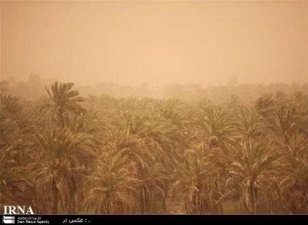 غلظت گرد وغبار در آبادان به 10برابر حدمجاز رسید