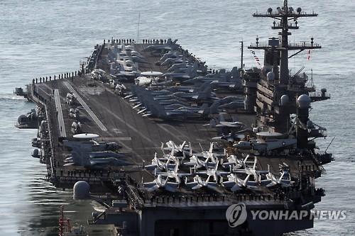 اقدام نظامی بیسابقه آمریکا: اعزام 3 ناوهواپیمابر به سواحل کره جنوبی