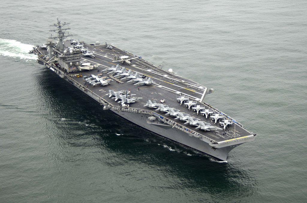اتفاق کم سابقه در ارتش آمریکا: حضور 3 ناوهواپیمابر آمریکا در منطقه شبه جزیره کره