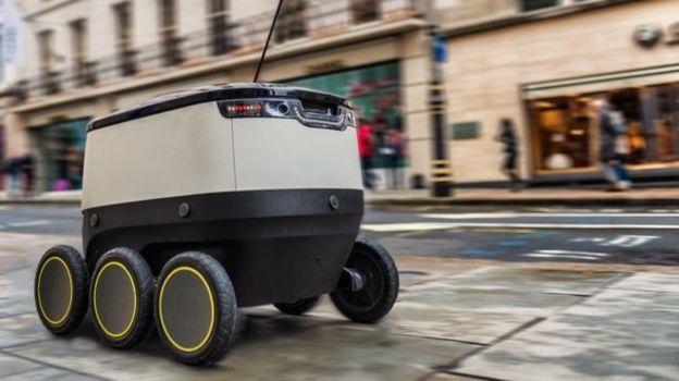 آزمایش ربات پستچی در لندن (+عکس)