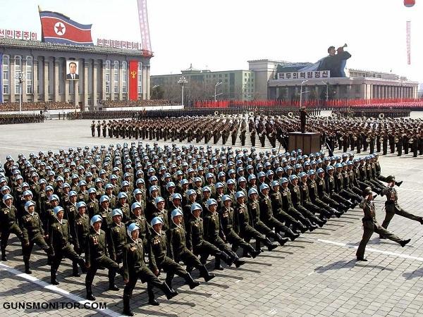 قدرت نظامی کره شمالی؛ اعداد و ارقام (کره شمالی/ 25 جهان)