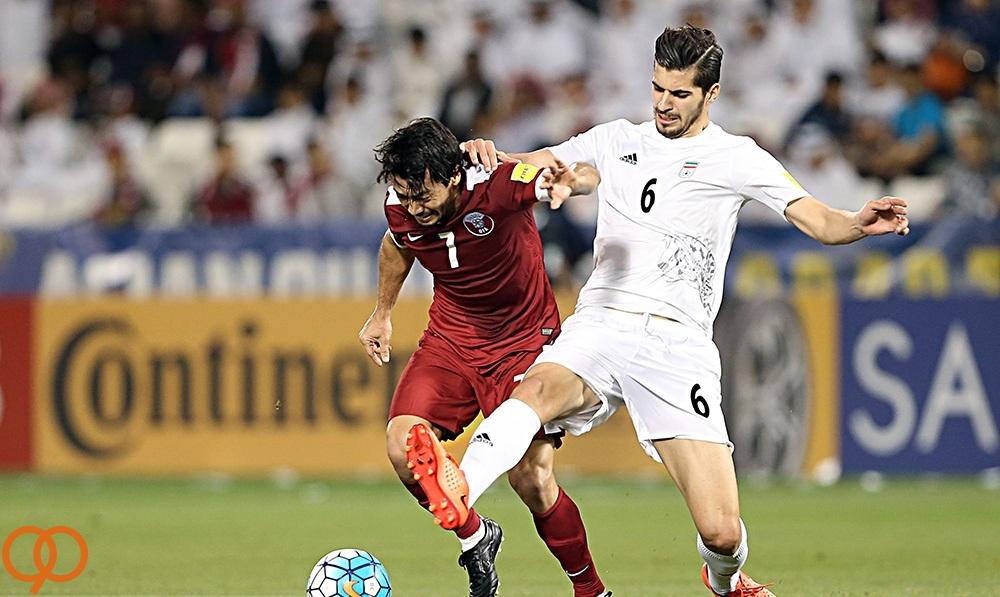 قطر 0 - 1  ایران /   3 امتیاز طلایی تیم کی روش (+جدول)