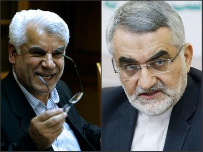 بهمنی: قاليباف از انتخابات كنار خواهد رفت/ بروجردی: با تخریب دولت اخلاقی نیست و با آن مخالفیم