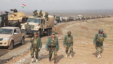 موافقت آمریکا با فروش ۳ میلیون دلاری تجهیزات نظامی به پیشمرگها