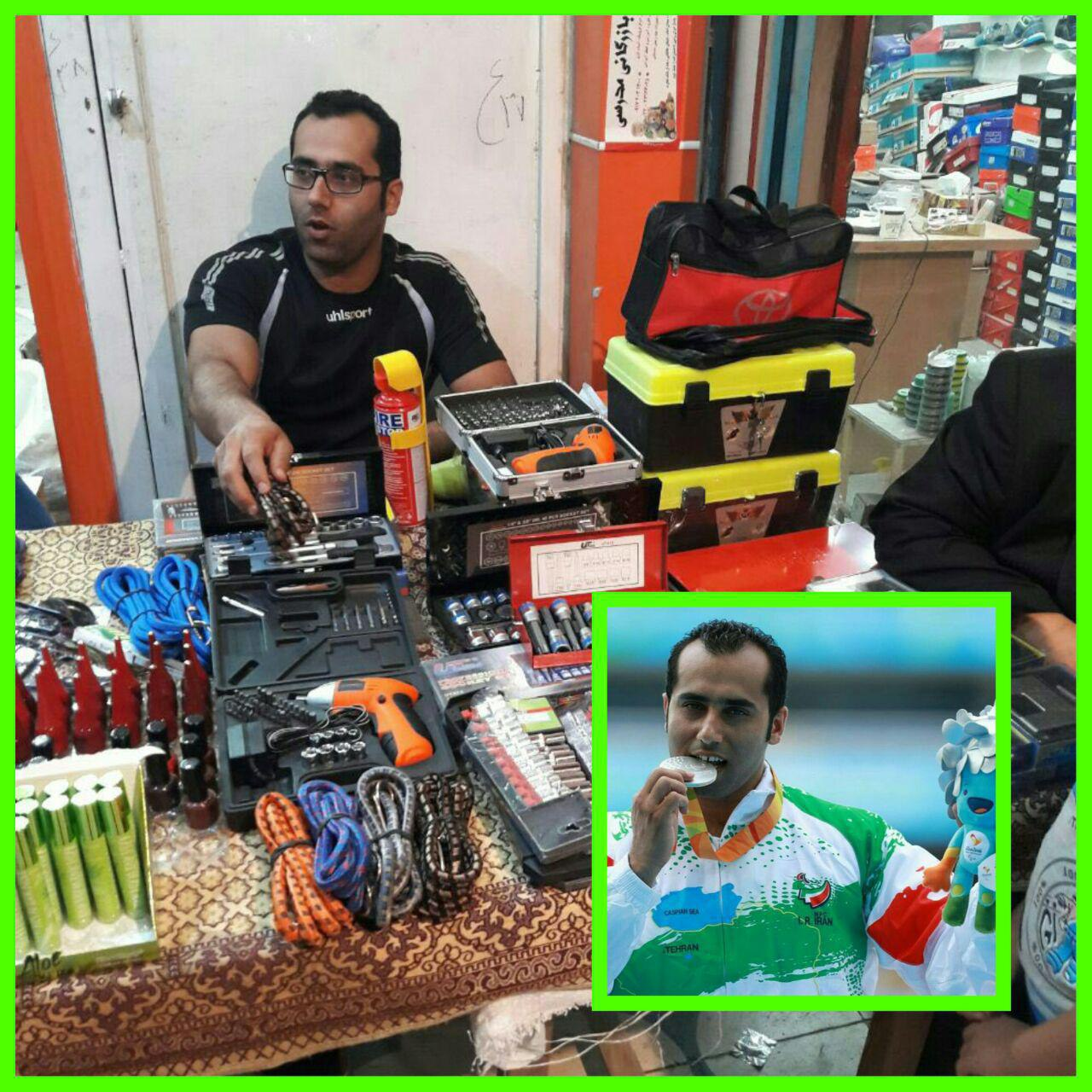 قول مسئولین استان بوشهر برای حل فوری مشکل قهرمان پارالمپیک کشور