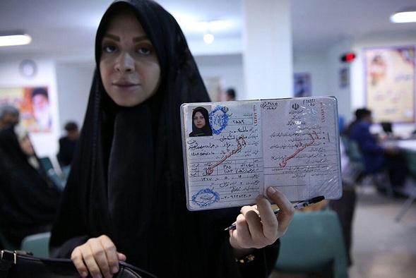 دختر فرمانده ارتش نامزد انتخابات شوراها شد (+عکس)