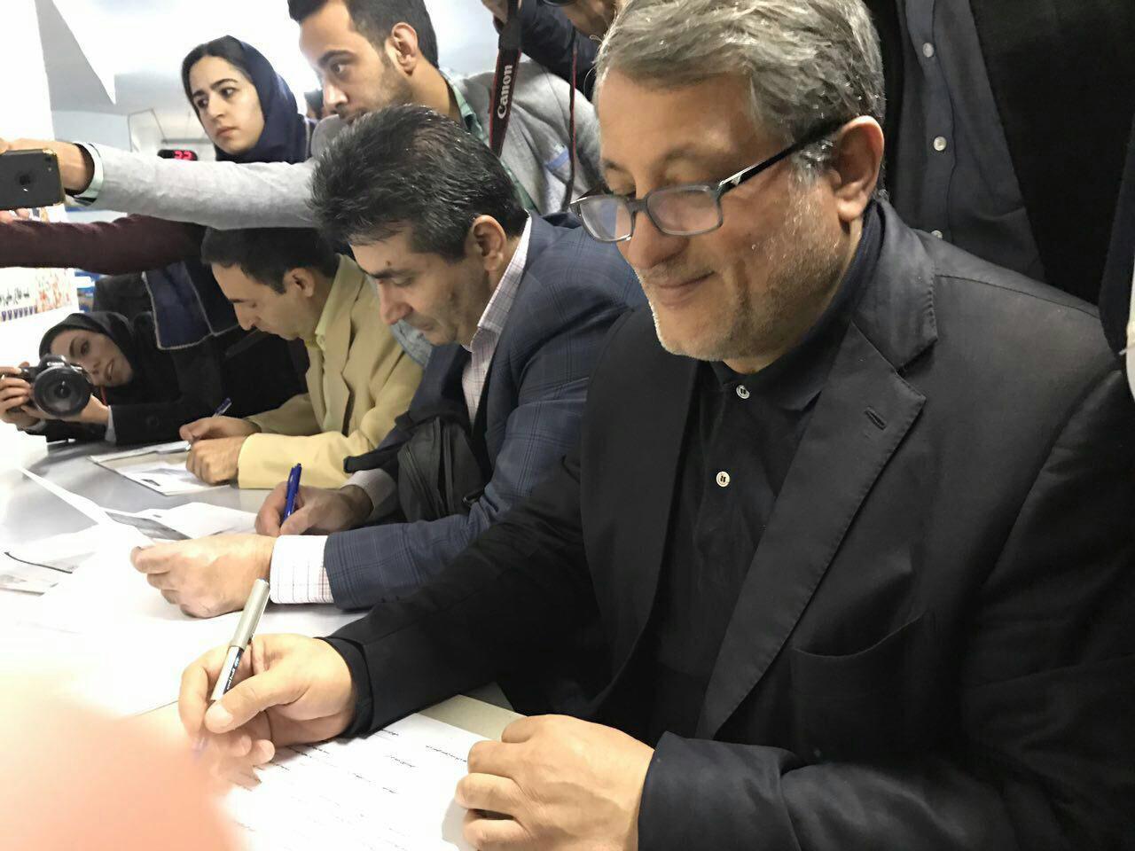 محسن هاشمی نامزد انتخابات شورای شهر تهران شد (+عکس)