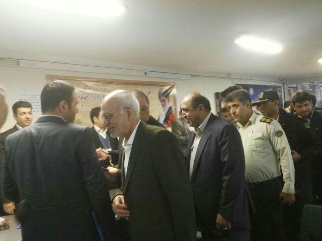 بازدید قائم مقام وزیر کشور از ثبت نام انتخابات شوراها