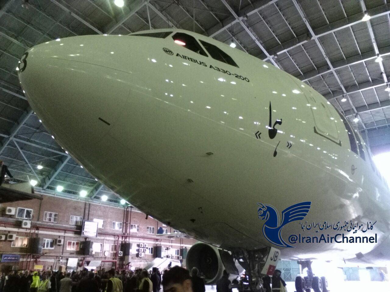 سومین هواپیمای برجامی تحویل ایران شد