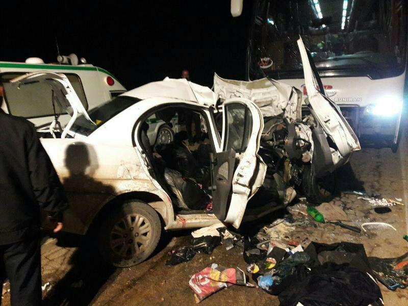 ۱۹۵ کشته و بیش از ۳۰۰۰ مجروح در حوادث جادهای نوروز