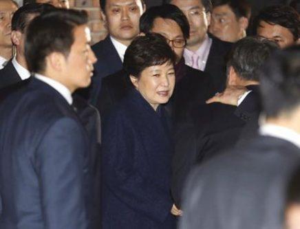 دادگاه: احتمال بازداشت 20 روزه رئیس جمهور برکنار شده کره جنوبی به اتهام دریافت رشوه