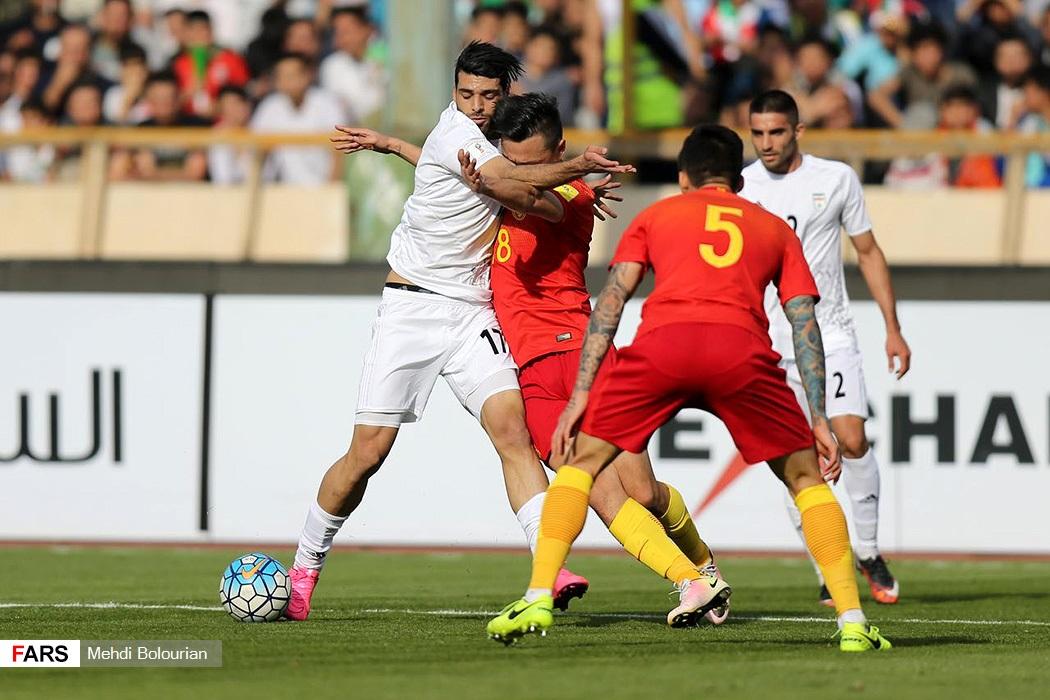 ایران 1 - 0 چین/ صدرنشینی با گل طارمی