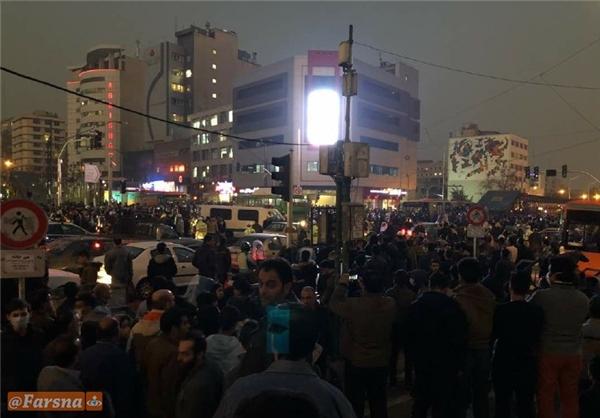 ناآرامی های پراکنده در تهران و برخی شهرها