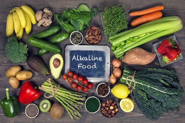 ارتقا سلامت با یک رژیم غذایی قلیایی