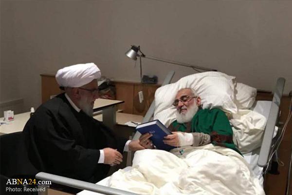 کشور محل درمان آیت الله هاشمی شاهرودی مشخص شد (+عکس)