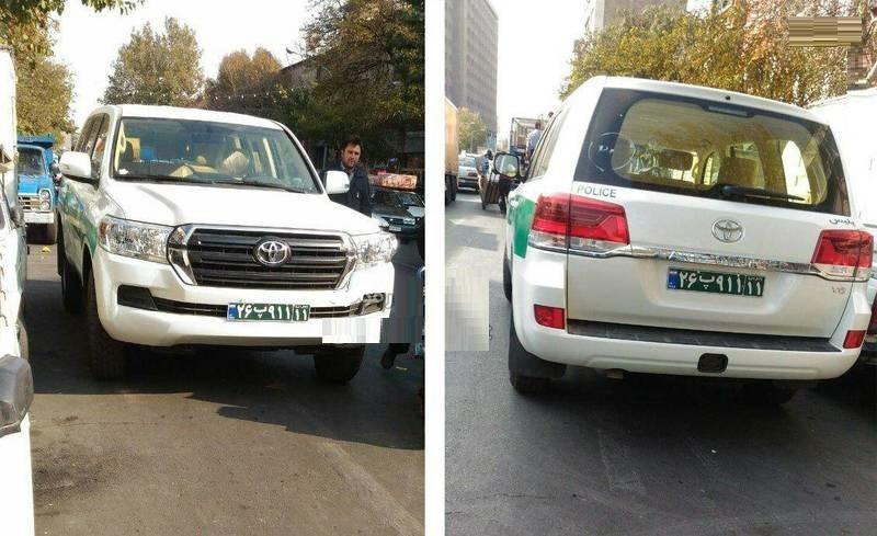 ماشین پلیسهای جدید نیروی انتظامی (عکس)