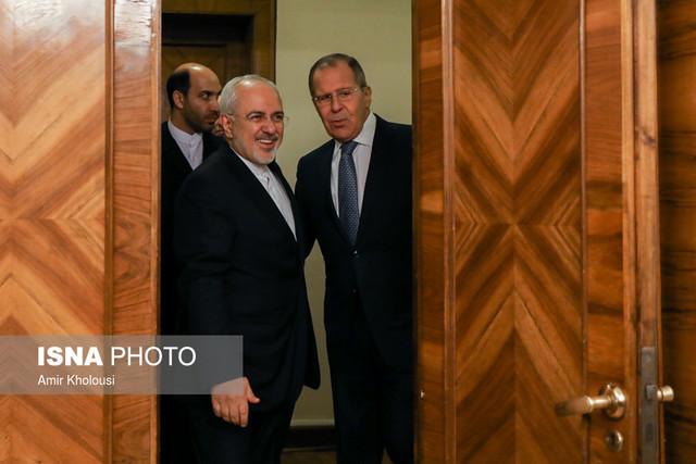ظریف در دیدار با لاوروف: آمریکا سیاستهای مخربی را در پیش گرفته/ نیاز است هماهنگیهایی را انجام دهیم