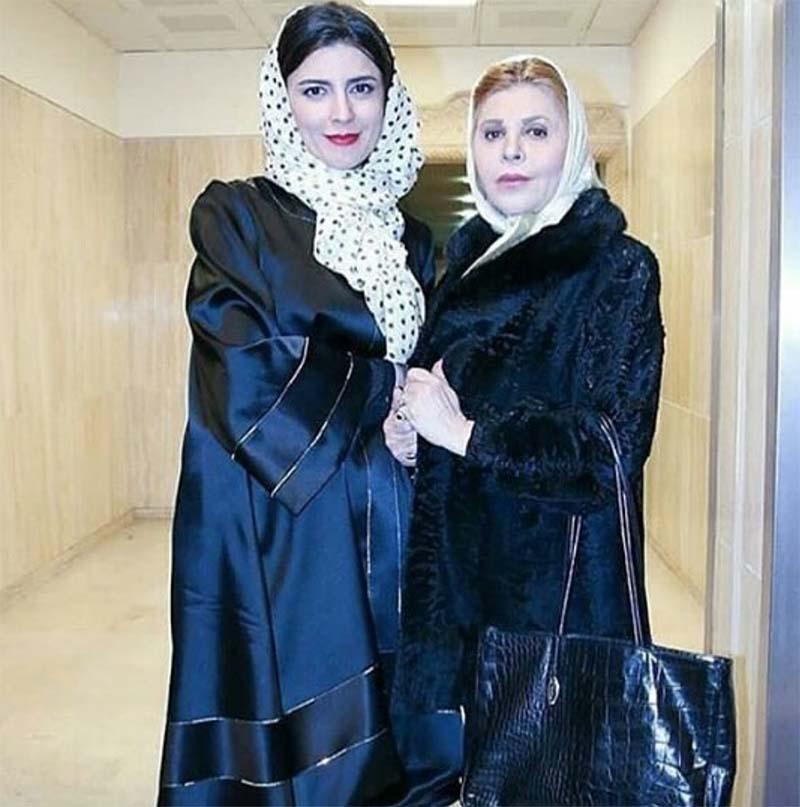 لیلا حاتمی در کنار مادرش (عکس)