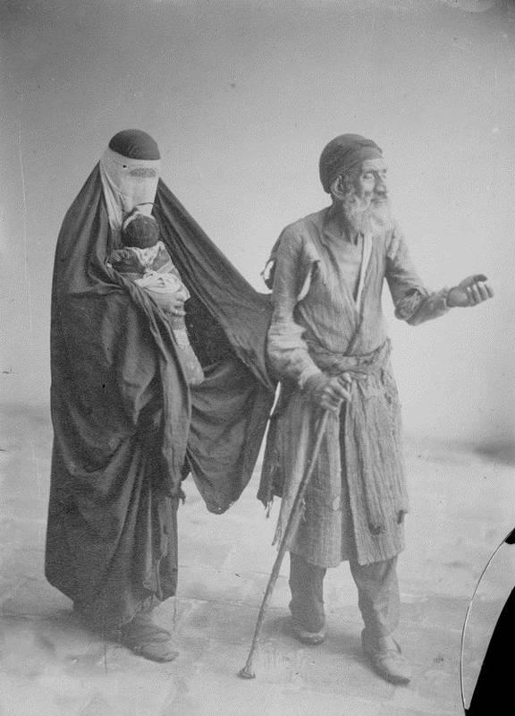 متکدیان زمان قاجار (عکس)